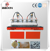 cnc router has 6 pcs spindle motor
