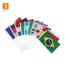 Cheap Fabric Triangle Flag Bunting , decorative flags on string