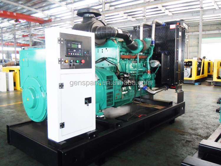 Power plant with 1000kw/1250kva cummins kta50-g3 generator set