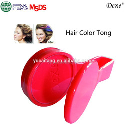 Your own brand glitter hair dye color herbal beauty plastic hair chalk with organic colored powder