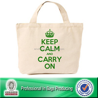 Large Organic reusable 600d polyester canvas carry bag