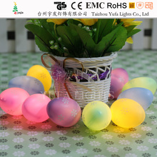 Egg shape easter garland string light