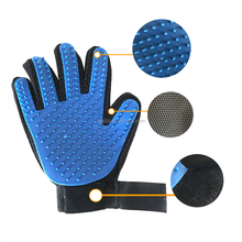 Five Finger Pet Grooming Gloves Silicone Massage Hair Remover Dog Cat Cleaning Brush Magic Glove