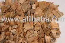 Eucalyptus wood chips for pulp and paper