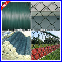 DM galvanized steel Chain Link Fence manufacturer for 20 years