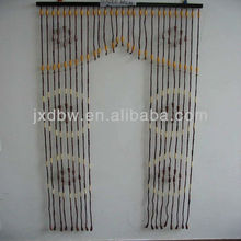 Wood And Bamboo Beaded Door Arch Curtain
