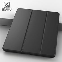 KAKU auto wake/sleep folding smart tablet case pc leather flip cover for huawei mediapad m3 8.4inch