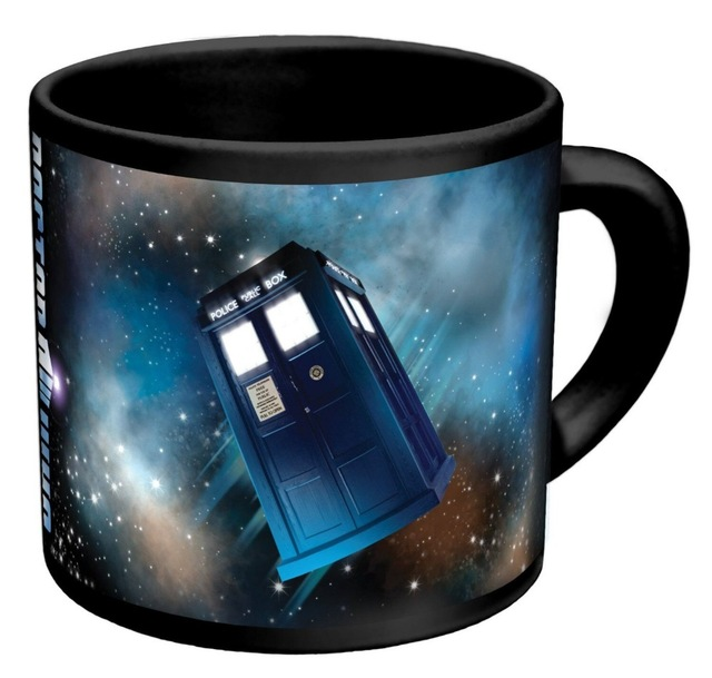 Wholesale fashion funny heat reveal mug color change sensitive doctor who ceramic magical coffee mug