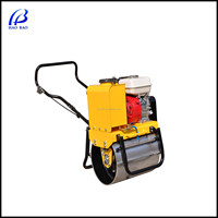 YL12 small three wheel static road roller