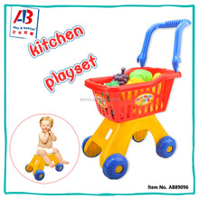 Most Popular Baby Pretend Play Toys Shopping Cart Toy for Kids