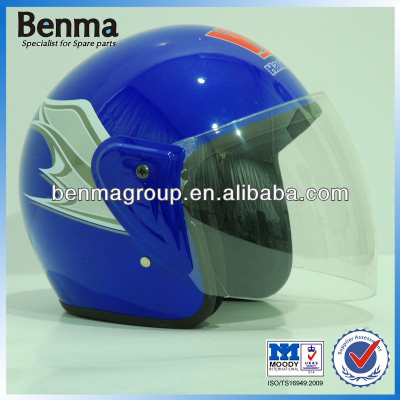 NEW Motorcycle Half Face Helmets, Blue Helmet for HAOJUE Motorcycle with Latest Design!