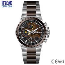 custom 5 atm water resistant 316l stainless steel watches men 2017