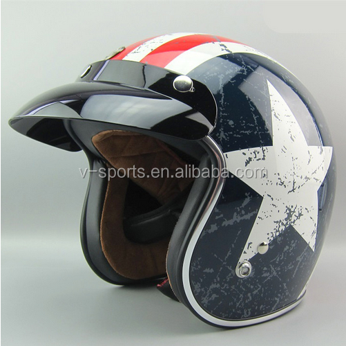 TORC motorcycle helmet for Harley Bike helmet DOT approved chopper bike helmet