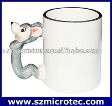 11oz Animal Coated Mug ---Rat,MT-B008