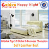 G984 Modern design single bed size soft leather bed