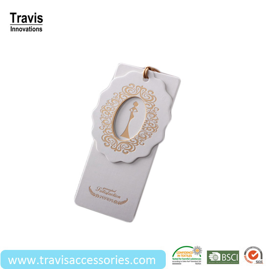 Woman Clothing Tags Template With Gold Stamping Printings - Buy