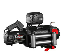 T-max X-power offroad winch 12500LBS electric winch with wire rope
