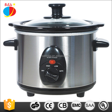 Round mini slow cooker