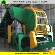 used scrap car tire shredder