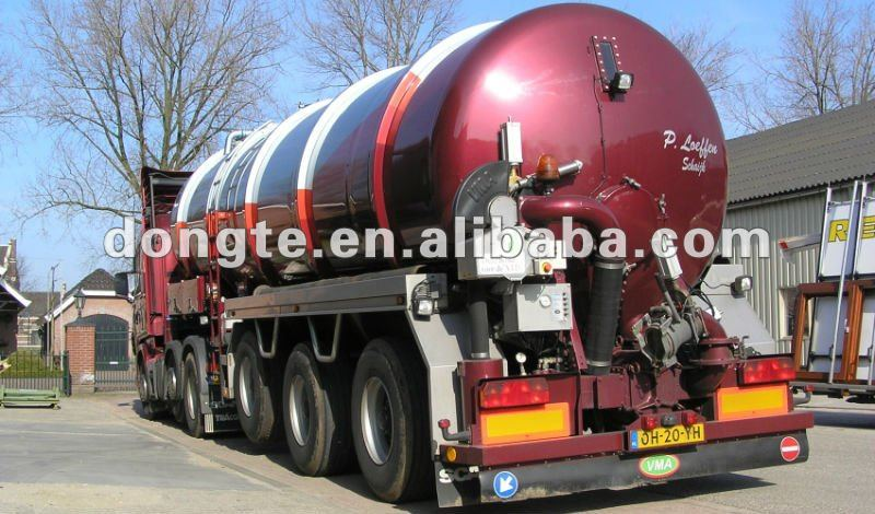 Hino vacuum cleaning truck/Vacuum Suction Semi Trailers/sewage suction tanker trailer Mr.Keane +86 13597828741
