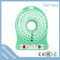computer rechargeable usb portable mini dc brushless mist cooling fan