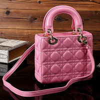 GL421 new for 2014 popular brandded real leather youth handbags