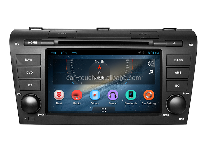 car dvd player for Mazda 3 2005- 2009 with android OS car radio gps navigation bluetooth/mp3/mp4/mirrorlink