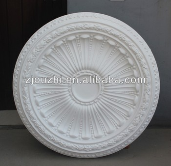 Elegant polyurethane PU ceiling medallion for wall decoration