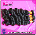 Brazilian 100% virgin Loose Wave Fast Deliveryhair pony tail