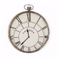 High quality china factory direct sale antique style metal wall clock price