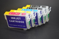 5 Color T1151 T1151 T1032 T1033 T1034 Empty Refillable Cartridge With Chip For Epson T1110 TX515FN Printer