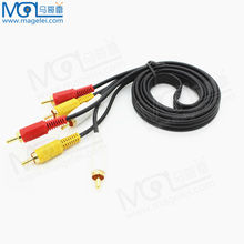 AUDIO VIDEO RCA CABLE/3RCA TO 3RCA CABLE 3m