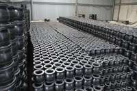 high quantity flange end galvanized rubber expansion joint