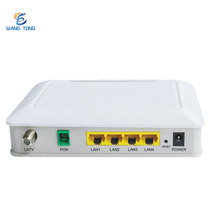wholesale high quality best price 4FE Gpon Fiber optic equipment ftth wifi catv gpon onu with 4 lan ports