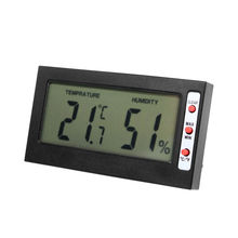 Professional thermo hygrometer temperature humidity meter Ambient thermometer hygrometer with min max record