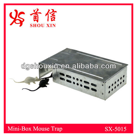 Small Size Multi Catch Mouse Trap Box SX-5015
