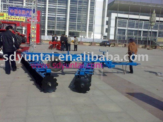 power 3point TRACTOR disc CULTIVATOR factory supply