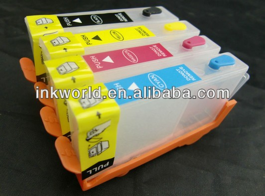 refillable ink cartridge for HP655 for HP5525 6525 6520 3525 4615 printer