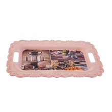 <strong>Flat</strong> rectangular and colored plastic tray,large size deep shallow plastic tray,new arrival latest design plastic tray