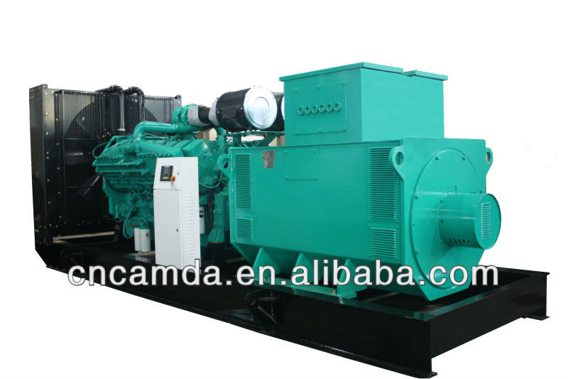 Diesel Power Generator with IP23 Protection Class and CE Standard