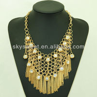 fashion body chain gold