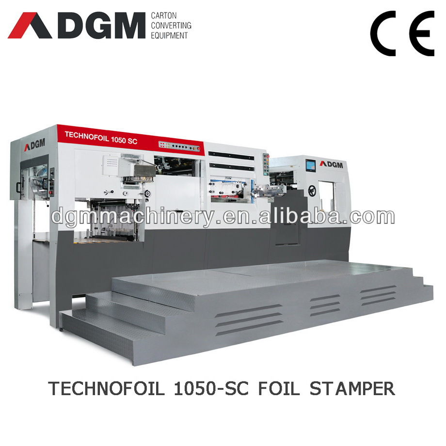 HOT FOIL STAMPERS TECHNOFOIL1050 SC Automatic die cutting machine for paper