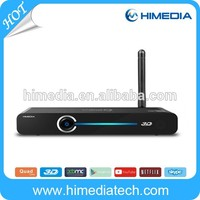 Hisilicon Quad-core CPU+Mali-450 GPU Wholesale WiFi Android TV box3D BDISO wholesale android smart tv set top box