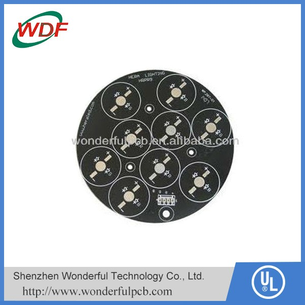 round PCB with leds factory