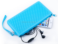 Ladies Cell Phone Pouch,Silicone Back Phone Pouch Made in China