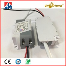 factory direct sales CE TUV RoHS constant voltage DC input 12v led lighting driver 500mA 700mA 6W 12V DC ac output 100-240v