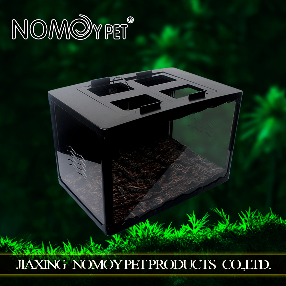 Nomo high quality plastic acrylic bird house acrylic pet reptile cages
