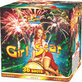 Cake and Display shell firework 1.2' 36Shots girl star
