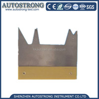 IEC60695 stainless steel Copper block Flame height gauge