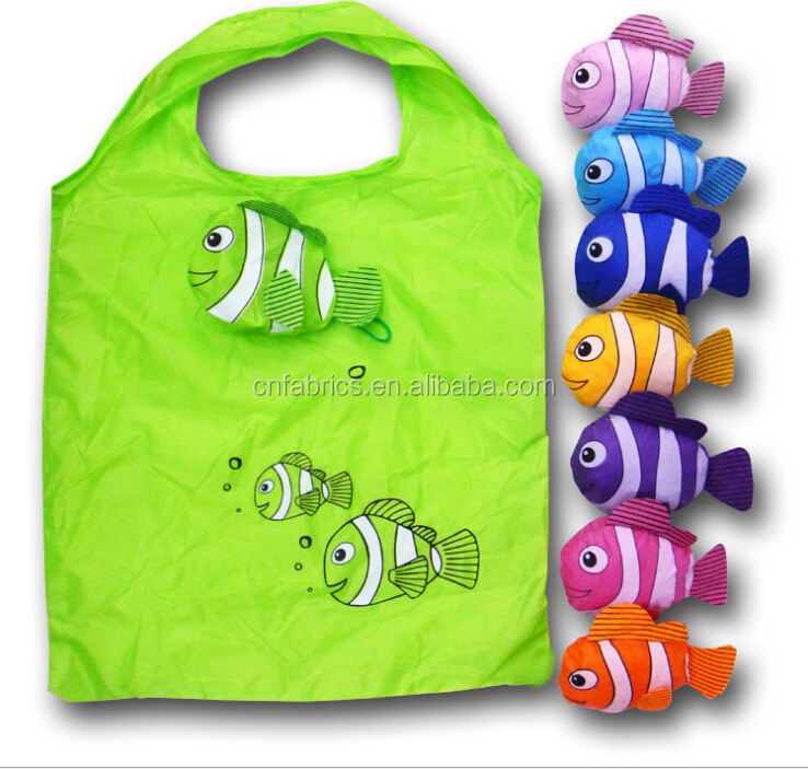 polyester 210t foldable bag for shopping